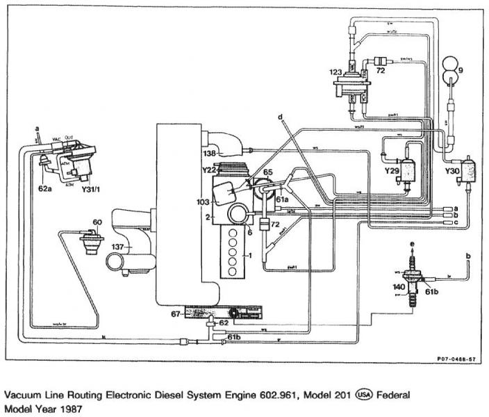 mercedes benz 300e engine diagram