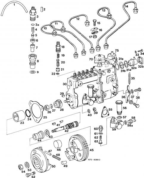 240d Oil Pump Drive Gears