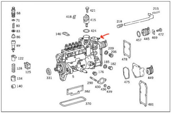 zexel fuel injection pump  zexel  free engine image for
