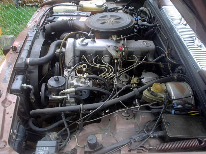 My custom 1980 w116 300sd project peachparts mercedes for 1980 mercedes benz 300sd turbo diesel