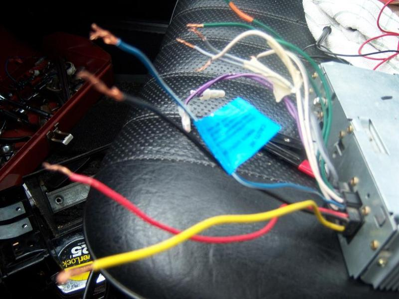 W123 Radio Wiring Diagram