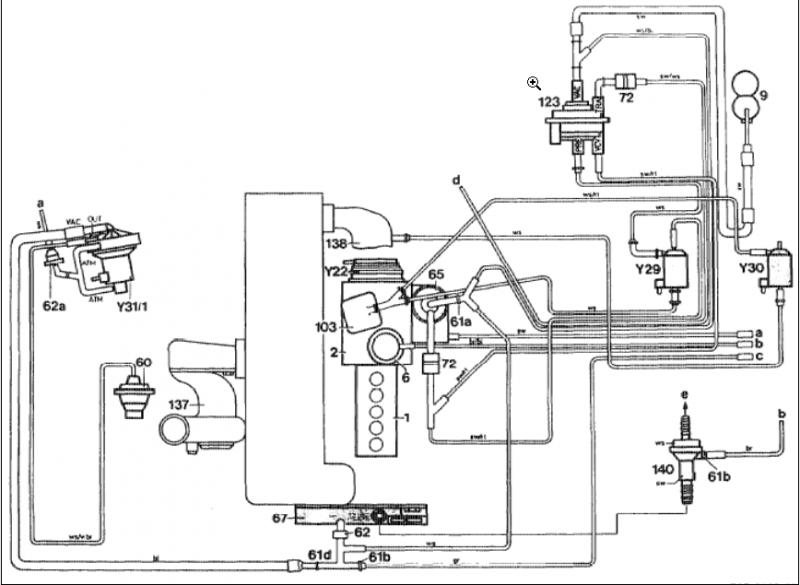 mercedes 300sd vacuum diagram 84 mercedes 190e engine diagram