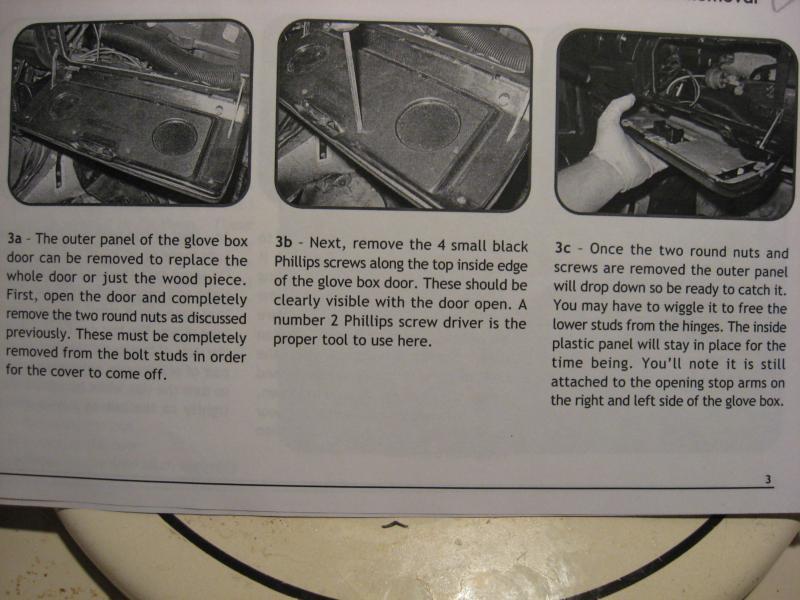 Help Please Glove Box Door Latch And Catch Repair
