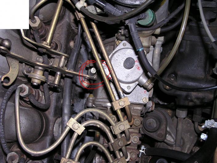 idle speed adjustment - PeachParts Mercedes-Benz Forum