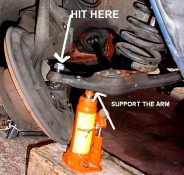 Gear Puller To Remove Ball Joint : Ball joint nightmare chapter page peachparts