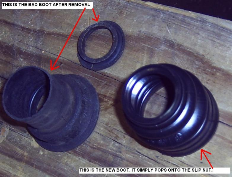 W126 drive shaft carrier/center bearing DIY - PeachParts