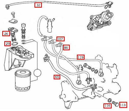mercedes fuel injection diagram  mercedes  free engine