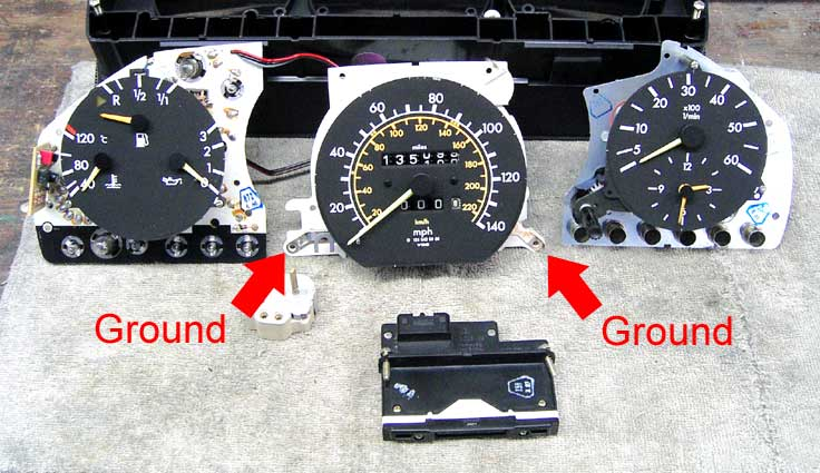 How do I remove face plate from instrument cluster? - PeachParts