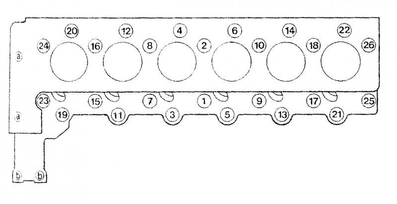 1987 300sdl cylinder head bolt torque specs - PeachParts Mercedes