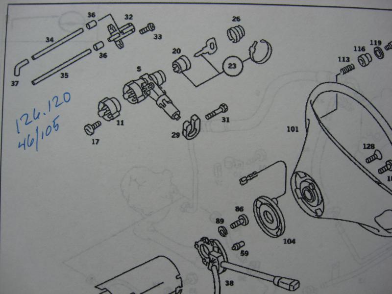 mercedes 300sd ignition wiring