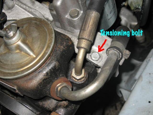 Power steering belt replacement 6