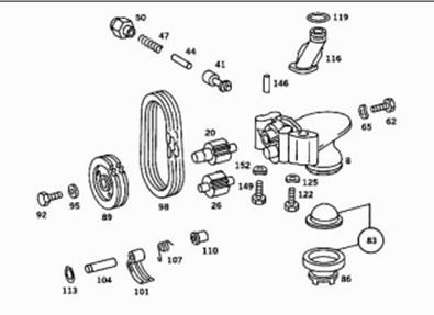 300sd Engine Diagram