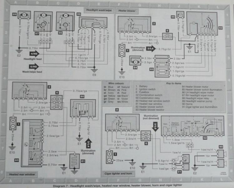 Wiring Diagram For Mercedes Benz W124 : W wiring diagrams peachparts mercedes benz forum