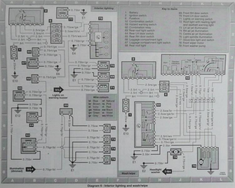 Wiring Diagram Radio W124