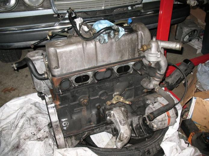 Mercedes benz om616 for Mercedes benz diesel engines