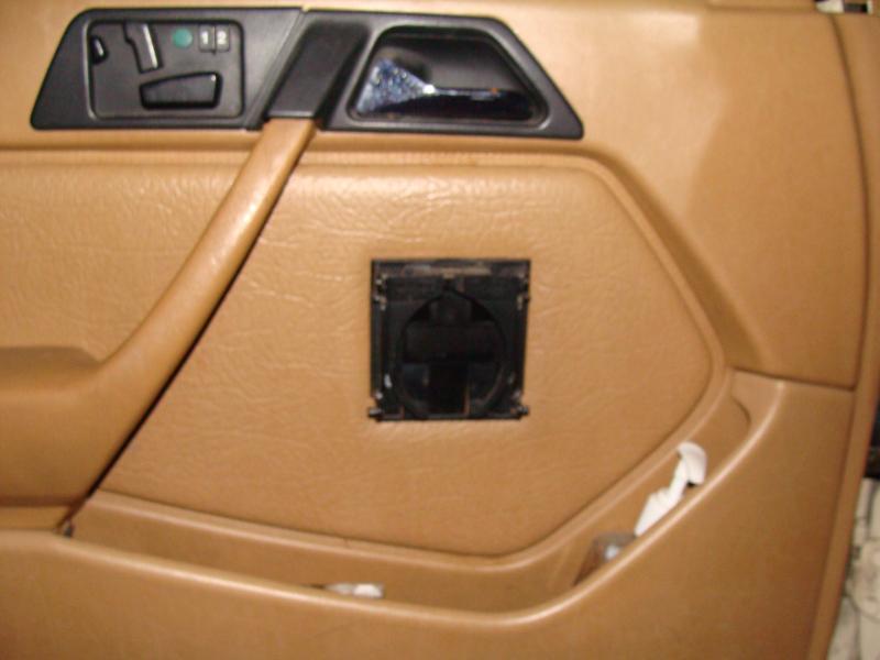 D Too Much Storage Cup Holders Honda Door Panel on Alfa Romeo Spider Door Panel