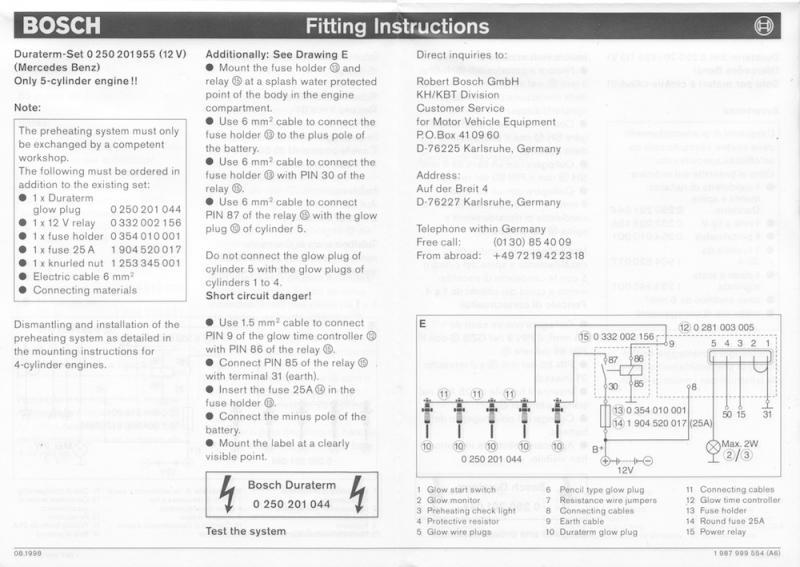 Luxury Glow Plug Relay Wiring Schematic Ideas - Schematic Diagram ...