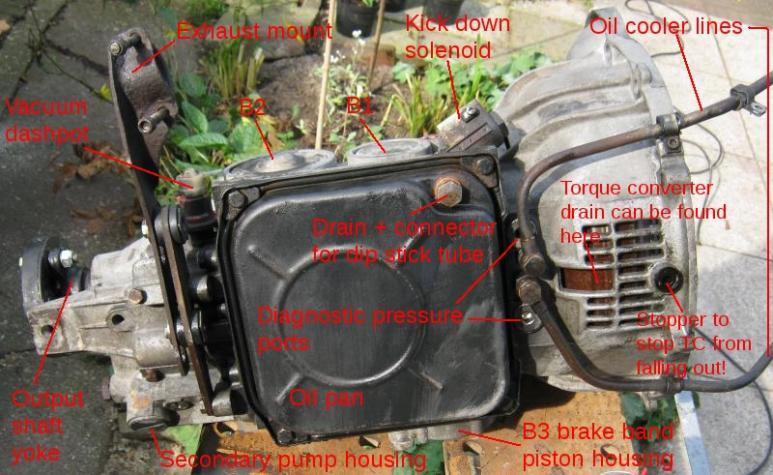 mercedes 722 transmission