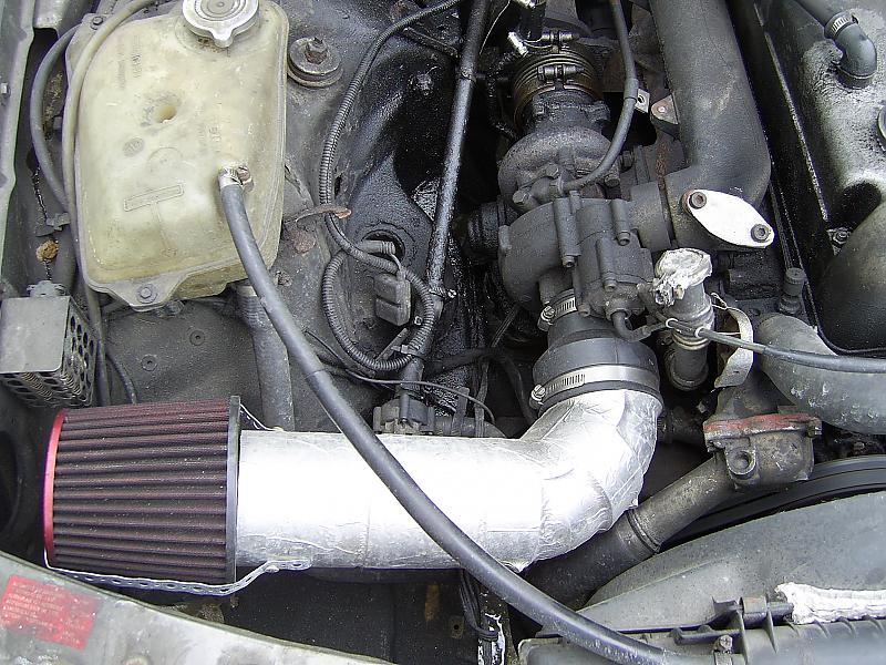 OM617 fitting an intercooler - PeachParts Mercedes-Benz Forum