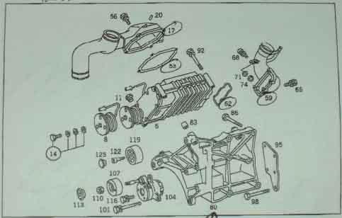 [SCHEMATICS_48EU]  Adding 50+ Horsepower to a w201 190e 2.6 - PeachParts Mercedes-Benz Forum | Mercedes 190e 2 6 Engine Diagram |  | the PeachParts Forum!