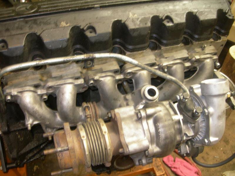 103 Turbo Manifold Adaptors! - PeachParts Mercedes-Benz Forum