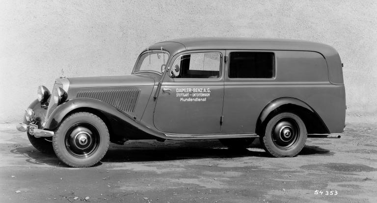 Real bragging rights 1952 170va wagon peachparts for Mercedes benz midlothian va