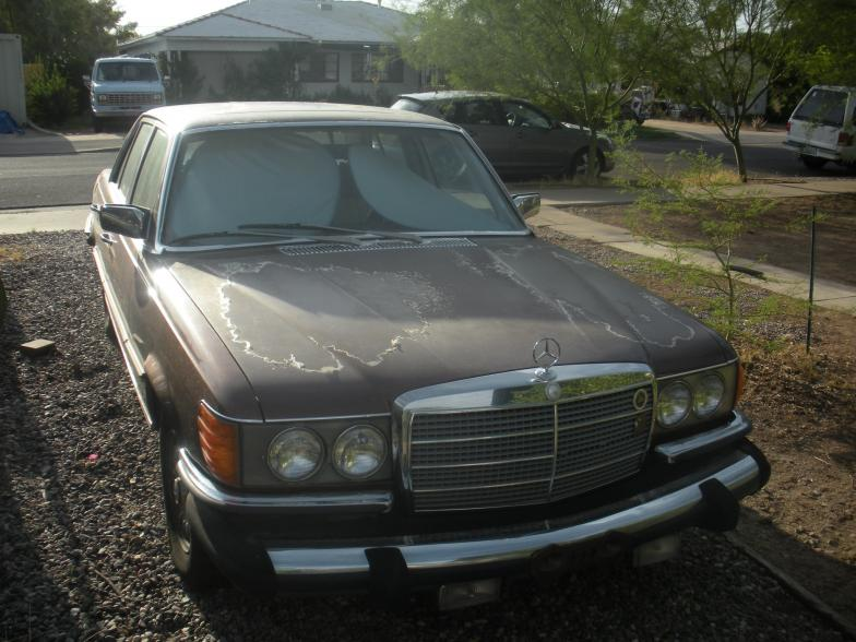 For Sale 1979 Mercedes Benz 300SD Turbo Diesel W116  PeachParts
