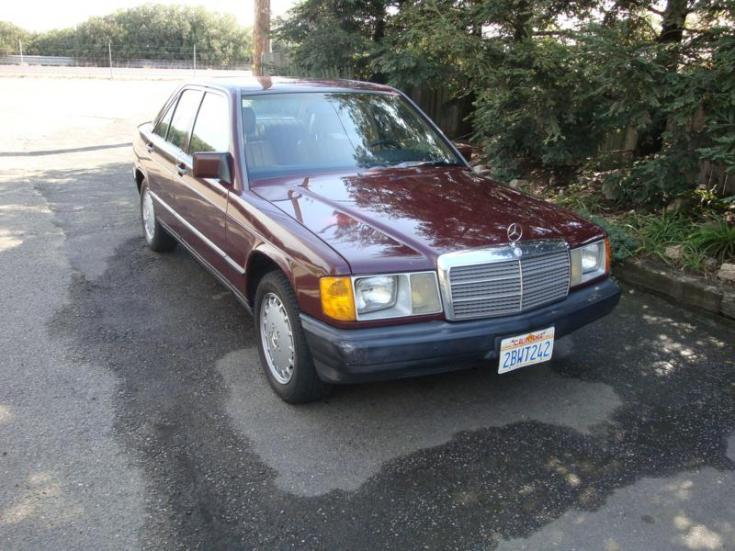 For sale 1985 mercedes benz 190d 2 2 diesel peachparts for Mercedes benz 190d for sale