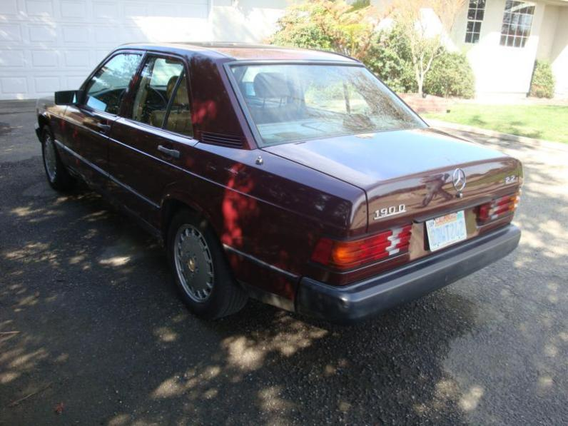 For sale 1985 mercedes benz 190d 2 2 diesel peachparts for 1992 mercedes benz 300d 2 5 turbo diesel for sale