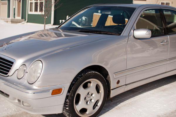 Fs 2002 E430 4matic Silver Black 98k Peachparts