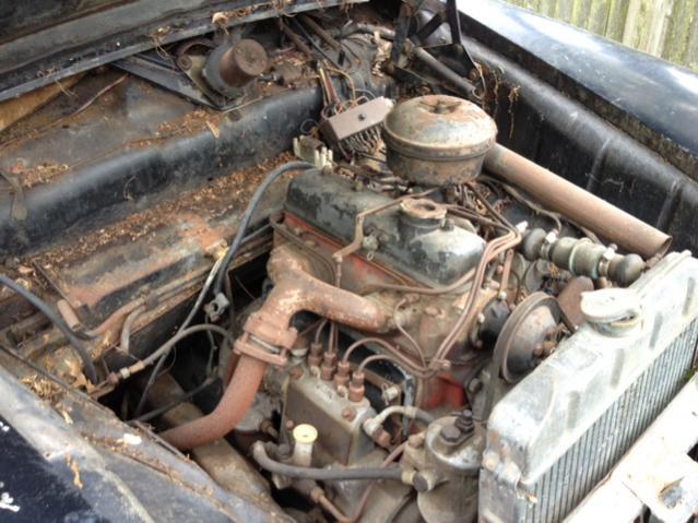 Fs 1954 Mercedes 180d Nj 1000 Parts Car Or