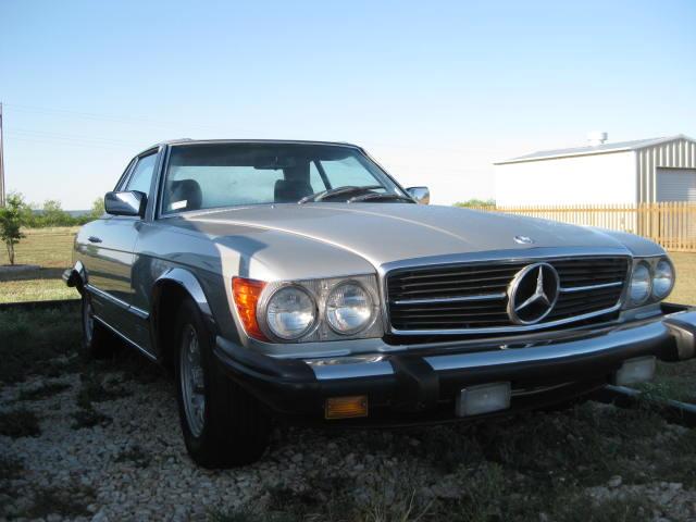 Mercedes 380sl Hood Stuck