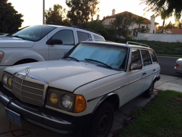 80 300td wagon southern california peachparts mercedes for Mercedes benz southern california