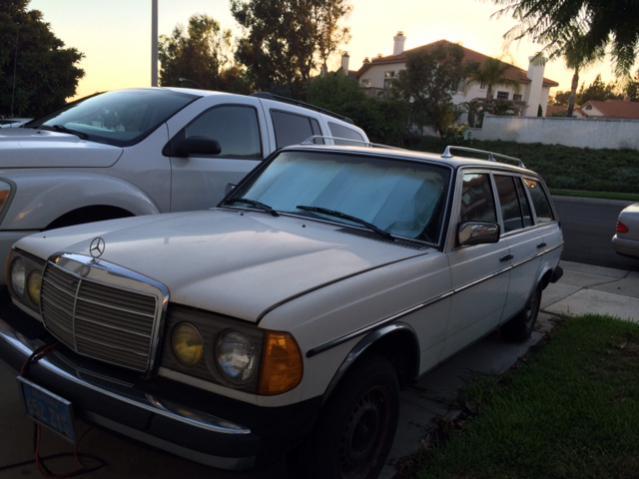 80 300td Wagon Southern California Peachparts Mercedes