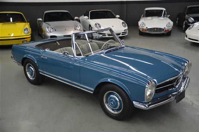 1966 230sl two owner 44580 mile 4 speed roadster   peachparts mercedes shopforum
