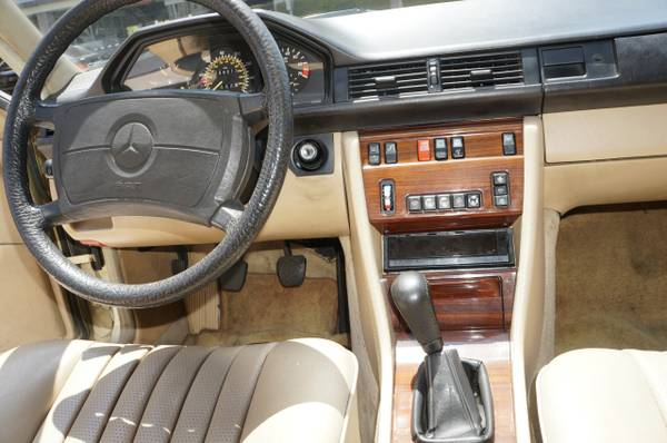 For Sale Rare Original 1986 Mercedes 300e W124 5 Speed M