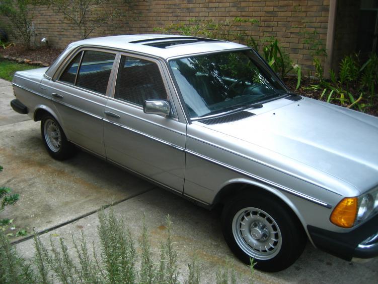 1985 mercedes 300d 3 0 l turbodiesel houston tx for Mercedes benz parts houston
