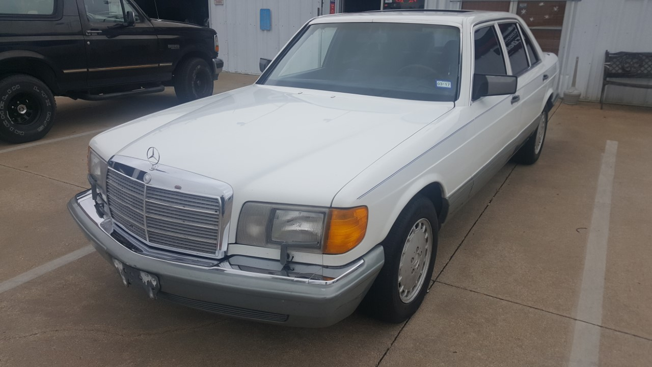1987 mercedes benz 300 sdl turbo diesel in dallas texas for Mercedes benz parts dallas