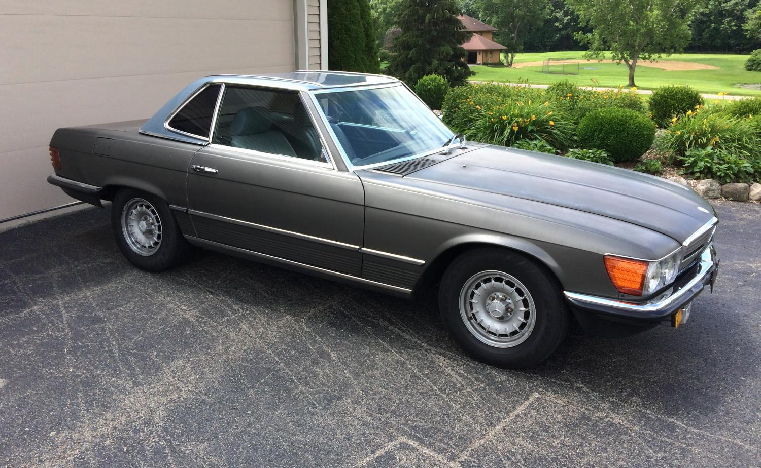 For sale 1984 euro 380sl w 3 tops peachparts mercedes for Mercedes benz 300td wagon for sale craigslist
