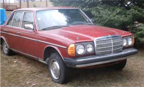 1977 Mercedes 240d 500 For Parts Or Restore Peachparts