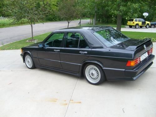 Very rare 1984 mercedes 190e 2 3 16v euro spec for 1984 mercedes benz 190e