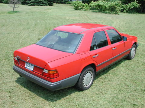 For sale 1989 mercedes benz 260e 4 door peachparts for 1989 mercedes benz 260e