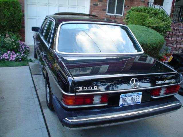 mercedes 300d diesel performance
