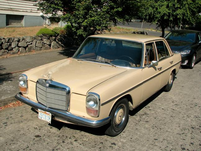1971 mercedes benz 220 w115 portland or peachparts for 1971 mercedes benz 220