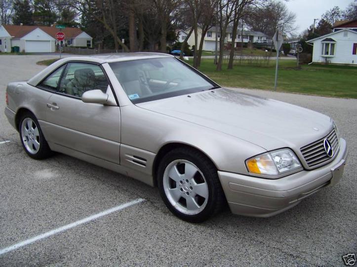 For Sale 1999 Sl500 81k 10900 Peachparts Mercedes