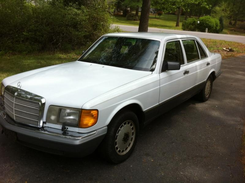 1986 300sdl in upstate south carolina peachparts for 1986 mercedes benz 300sdl