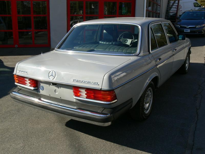 For sale 1983 mercedes benz 300d turbo diesel w123 sedan for Mercedes benz diesel for sale