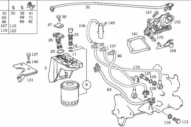Mercedes Benz E300 Diesel Fuel System Diagram | Wiring Diagram