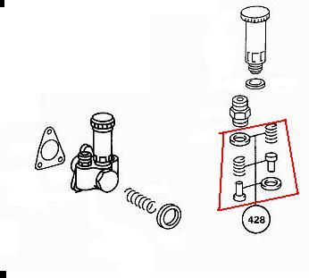OM617.951 and .952 Lift pump Repair kit W126.120 300SD