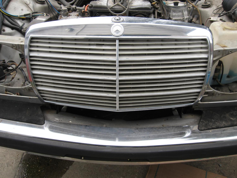 W123 Grille Peachparts Mercedes Shopforum